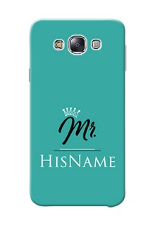 Galaxy E7 (2015) Custom Phone Case Mr with Name