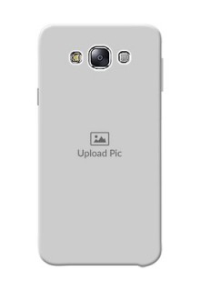 Samsung Galaxy E7 Duos Full Picture Upload Mobile Back Cover Design