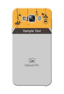 Samsung Galaxy E7 Duos my family design with hanging icons Design