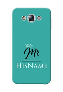 Galaxy E7 Duos Custom Phone Case Mr with Name