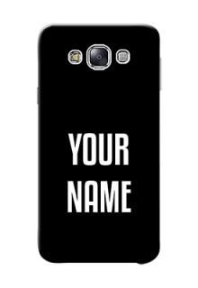 Galaxy E7 Duos Your Name on Phone Case
