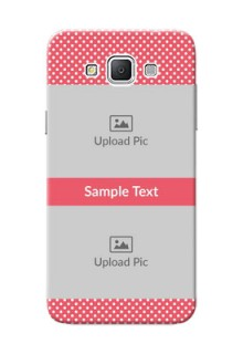 Samsung Galaxy Grand 3 G7200 White Dots Mobile Case  Design