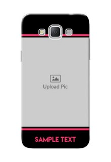 Samsung Galaxy Grand 3 G7200 Photo With Text Mobile Case Design
