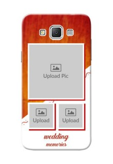Samsung Galaxy Grand 3 G7200 Wedding Memories Mobile Cover Design