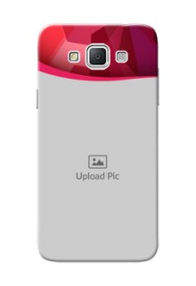 Samsung Galaxy Grand 3 G7200 Red Abstract Mobile Case Design