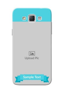 Samsung Galaxy Grand 3 G7200 Simple Mobile Back Cover Design