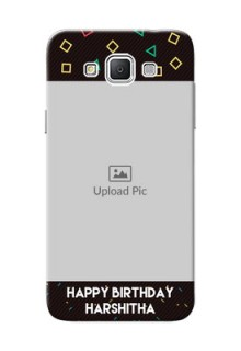 Samsung Galaxy Grand 3 G7200 confetti birthday design Design Design