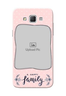 Samsung Galaxy Grand 3 G7200 A happy family with polka dots Design