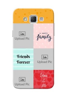 Samsung Galaxy Grand 3 G7200 4 image holder with multiple quotations Design