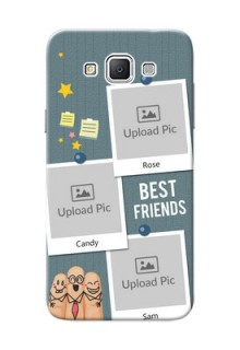 Samsung Galaxy Grand 3 G7200 3 image holder with sticky frames and friendship day wishes Design