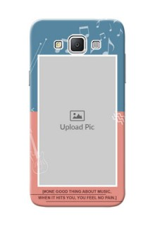 Samsung Galaxy Grand 3 G7200 2 colour backdrop with music theme Design Design