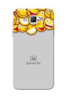 Samsung Galaxy Grand 3 G7200 smileys pattern Design Design