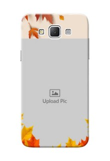 Samsung Galaxy Grand 3 G7200 autumn maple leaves backdrop Design