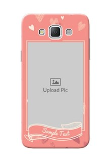 Samsung Galaxy Grand 3 G7200 love doodle art Design Design