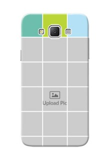 Samsung Galaxy Grand 3 G7200 white boxes pattern Design Design