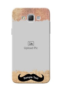 Samsung Galaxy Grand 3 G7200 modern cloth texture Design Design