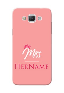 Galaxy Grand 3 G7200 Custom Phone Case Mrs with Name