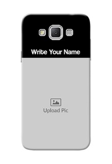 Galaxy Grand 3 G7200 Photo with Name on Phone Case