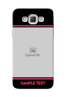 Samsung Galaxy Grand Max Photo With Text Mobile Case Design