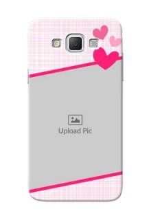 Samsung Galaxy Grand Max Pink Design With Pattern Mobile Cover Design