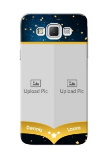 Samsung Galaxy Grand Max 2 image holder with galaxy backdrop and stars  Design