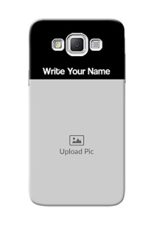 Galaxy Grand Max Photo with Name on Phone Case
