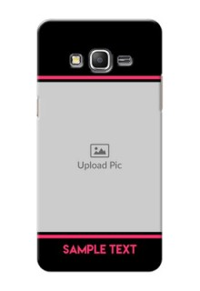 Samsung Galaxy Grand Prime Photo With Text Mobile Case Design