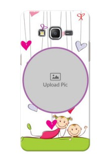 Samsung Galaxy Grand Prime Cute Babies Mobile Cover  Design