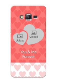 Samsung Galaxy Grand Prime Couples Picture Upload Mobile Cover Design
