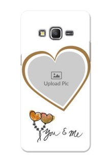 Samsung Galaxy Grand Prime You And Me Mobile Back Case Design