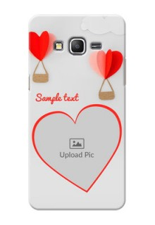 Samsung Galaxy Grand Prime Love Abstract Mobile Case Design