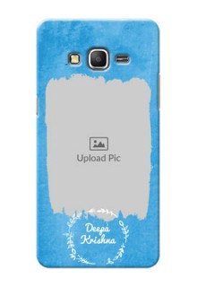 Samsung Galaxy Grand Prime watercolour design with vintage floral Design