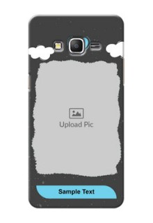 Samsung Galaxy Grand Prime splashes backdrop with love doodles Design