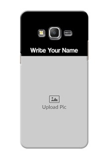 Galaxy Grand Prime Photo with Name on Phone Case