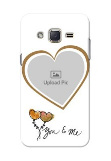 Samsung Galaxy J2 (2015) You And Me Mobile Back Case Design