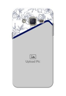 Samsung Galaxy J2 (2015) Floral Design Mobile Cover Design