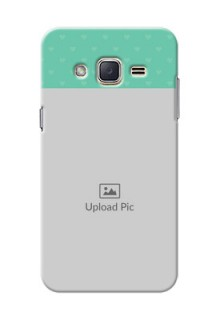 Samsung Galaxy J2 (2015) Lovers Picture Upload Mobile Cover Design