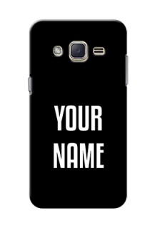 Galaxy J2 (2015) Your Name on Phone Case