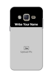 Galaxy J2 (2015) Photo with Name on Phone Case
