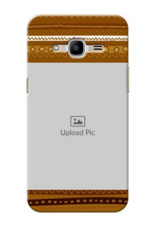 Samsung Galaxy J2 (2016) Friends Picture Upload Mobile Cover Design
