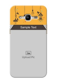 Samsung Galaxy J2 (2016) my family design with hanging icons Design Design