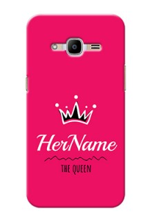 Galaxy J2 (2016) Queen Phone Case with Name