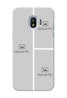 Samsung Galaxy J2 2018 Multiple Picture Upload Mobile Cover Design