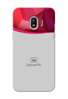 Samsung Galaxy J2 2018 Red Abstract Mobile Case Design