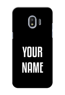 Galaxy J2 2018 Your Name on Phone Case