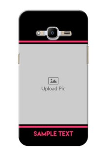Samsung Galaxy J2 Pro (2016) Photo With Text Mobile Case Design