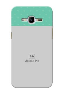 Samsung Galaxy J2 Pro (2016) Lovers Picture Upload Mobile Cover Design