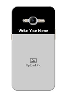 Samsung Galaxy J2 Pro (2016) Photo with Name on Phone Case