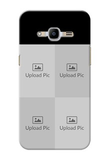 Samsung Galaxy J2 Pro (2016) 4 Image Holder on Mobile Cover