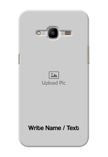 Samsung Galaxy J2 Pro (2016) Mobile Cover: Photo with Text